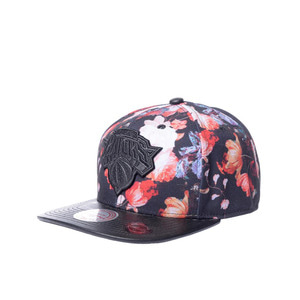 미첼엔네스 NBA 뉴욕닉스 엔티크 플로랄 스냅백, MitchellandNess NEWYORK KNICKS ANTIQUE FLORAL SNAPBACK, NBA