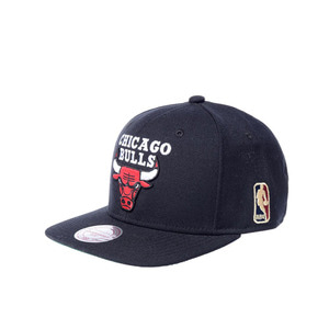 미첼엔네스 NBA 시카고불스 울 솔리드2 스냅백, MitchellandNess CHICAGO BULLS WOOL SOLID 2 SNAPBACK, NBA
