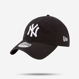 뉴에라 MLB 뉴욕양키즈 로고 볼캡(블랙), NEWERA New York Yankees  Classic 9TWENTY  Cap