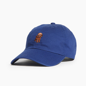 [WARF] Cotton Ballcap Poodle Royal, 모자, 볼캡 - 풋셀스토어