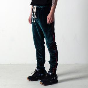 [EPTM] VELOUR TRACK PANTS (GREEN)