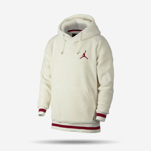 조던 시어링 플리스 후디, Air Jordan Shearling Fleece Pullover Hoodie, AH7907-133