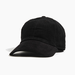 [NEWHATTAN] NEWHATTAN corduroy Ballcap Black, 골덴 볼캡 - 풋셀스토어