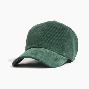 [NEWHATTAN] NEWHATTAN corduroy Ballcap Dark Green, 골덴 볼캡 - 풋셀스토어
