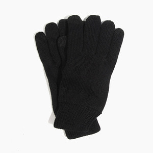 [NEWHATTAN] NEWHATTAN Knitted Touch Gloves Black, 장갑 - 풋셀스토어