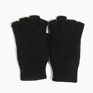 [NEWHATTAN] NEWHATTAN Knitted Fingerless Gloves Black, 장갑 - 풋셀스토어