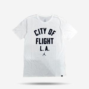 조던 CITY OF FLIGHT 반팔티, M JSW TEE COF ZIPCODE, 913019-100  - 풋셀스토어