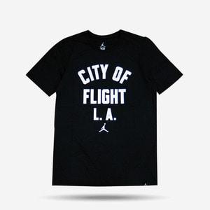 조던 CITY OF FLIGHT 반팔티, M JSW TEE COF ZIPCODE, 913019-010 - 풋셀스토어