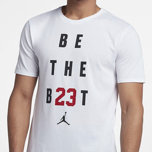 조던 BE THE BEST 반팔티, JORDAN BE THE BEST TEE, 895149-100 - 풋셀스토어