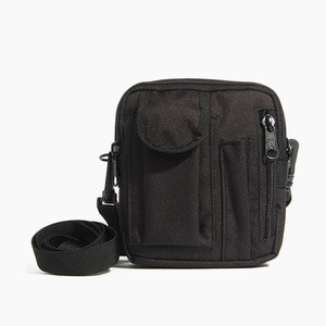 [로스코] ROTHCO Molle Compatible Excursion Bag Black - 풋셀스토어
