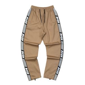 네스티킥, [NSTK] NSTK LINE TRACK PANTS (BEIGE) - 풋셀스토어