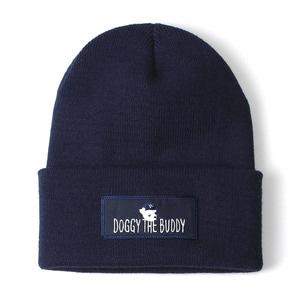 [위티나트] 도기 더 버디 비니 네이비 / DOGGY THE BUDDY BEANIE navy - 풋셀스토어