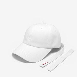 [위티나트] 쉬프트랩 볼캡 화이트 / SHIFTRAP BALLCAP white - 풋셀스토어