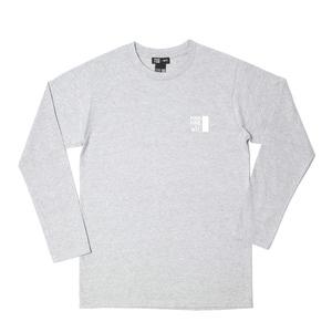 [위티나트] FFBW 로고 롱슬리브 티셔츠 그레이 / FFBW LOGO LSV T-SHIRT gray - 풋셀스토어