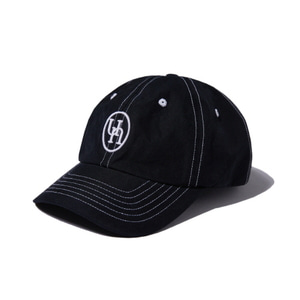 [어반스터프] USF LOCK STITCH EMBLEM CAP BLACK - 풋셀스토어