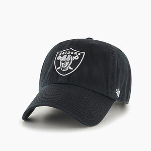 [47BRAND] NFL Clean Up Raiders Black - 풋셀스토어