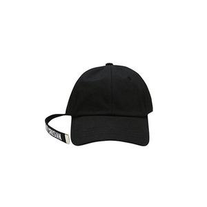 [핑크크루시안]롱테일 베이직 볼캡 블랙 PCA2AC002 (남여공용) - 풋셀스토어