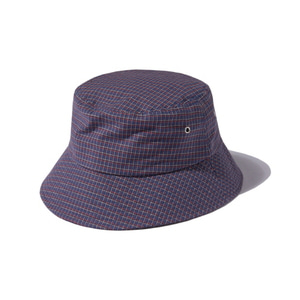 [어반스터프] USF EYELET CHECK BUCKET HAT BIOLET - 풋셀스토어