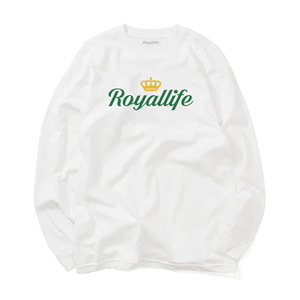 [로얄라이프] RLL204 로얄 크라운 로고 롱슬리브 - 3 colors  - 풋셀스토어