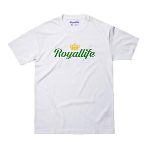 [로얄라이프] RL216 로얄라이프 크라운 로고 반팔 - 2 colors  - 풋셀스토어