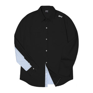 네스티킥, [NSTK] NELEMENT SHIRTS (BLK), SALE - 풋셀스토어