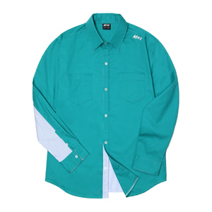 네스티킥, [NSTK] NELEMENT SHIRTS (GREEN), SALE - 풋셀스토어