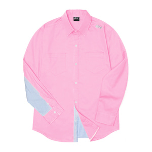 네스티킥, [NSTK] NELEMENT SHIRTS (PINK), SALE - 풋셀스토어