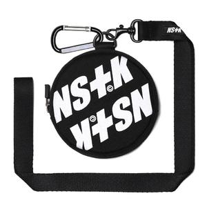 네스티킥, [NSTK] NSTK EMBLEM CASE (BLK) - 풋셀스토어