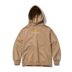 [어반스터프] USF TRACKING NUMBER HOODY BEIGE - 풋셀스토어