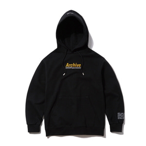 [어반스터프] USF TRACKING NUMBER HOODY BLACK - 풋셀스토어