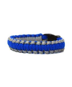 [피오에이] THIN FIT BRACELET - BLUE / GREY - 풋셀스토어