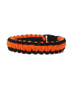 [피오에이] THIN FIT BRACELET - ORANGE / BLACK - 풋셀스토어