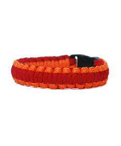[피오에이] THIN FIT BRACELET - ORANGE / RED - 풋셀스토어