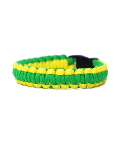 [피오에이] THIN FIT BRACELET - GREEN / YELLOW - 풋셀스토어