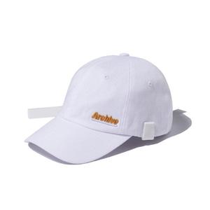 [어반스터프] USF ARCHIVE TECH BALL CAP WHITE, 볼캡 - 풋셀스토어
