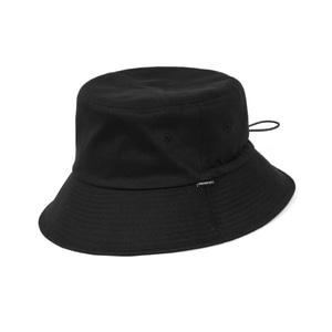 [어반스터프] USF STRING BUCKET HAT BLACK - 풋셀스토어