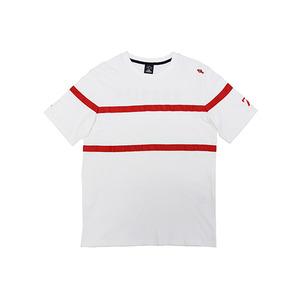 [핑크크루시안] 테잎 포인트 티셔츠_PCA2TS014 (남녀공용) - 풋셀스토어