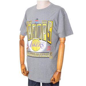 미첼엔네스 NBA LA레이커스 위너 테이크올 트랜디셔널 반팔티(그레이), MITCHELL&NESS NBA LA LAKERS WINNER TAKES ALL TRADITIONAL TEE - GREY  - 풋셀스토어