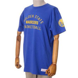 미첼엔네스 NBA 골스 팀이슈 트랜디셔널 반팔티(블루), MITCHELL&NESS NBA GOLDEN STATE WARRIORS TEAM ISSUED TRADITIONAL TEE - BLUE  - 풋셀스토어