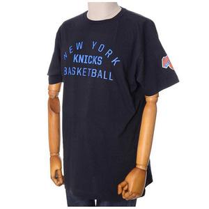 미첼엔네스 NBA 뉴욕닉스 팀이슈 트랜디셔널 반팔티(블랙), MITCHELL&NESS NBA NEWYORK KNICKS TEAM ISSUED TRADITIONAL TEE - BLACK - 풋셀스토어