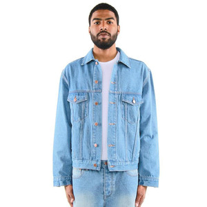 [EPTM] DENIM TRUCKER JACKET (BLUE) - 풋셀스토어