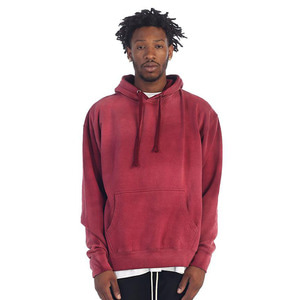 [EPTM] POWER WASHED HOODIE (BURGUNDY)  - 풋셀스토어