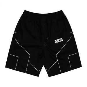 네스티팜, [NYPM] DIMENSIONAL SHORT PANTS (BLK) - 풋셀스토어