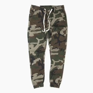 [하이퍼데님] HYPER DENIM Drop Crotch Jogger Camo - 풋셀스토어