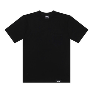 네스티킥, [NSTK] EASY CODE 002 POCKET TEE (BLK) - 풋셀스토어