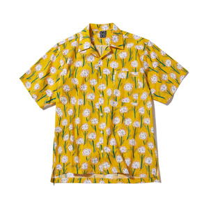 [어반스터프] USF DOODLE FLOWER HAWAIIAN SHIRTS YELLOW - 풋셀스토어