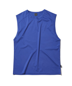 [어반스터프] USF INCISION LONG SLEEVELESS BLUE - 풋셀스토어
