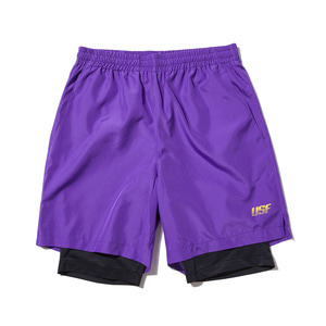 [어반스터프] USF LAYERED BOXER SHORTS VIOLET - 풋셀스토어