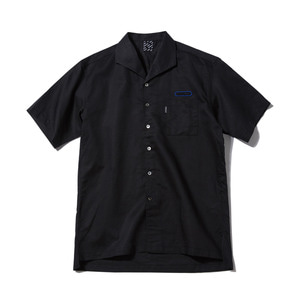 [어반스터프] USF SHAWL COLLAR LINEN SHIRTS BLACK - 풋셀스토어