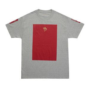 롤로, [LOLO] GOLD ANGEL T-SHIRT S/S  (Grey/Red) - 풋셀스토어